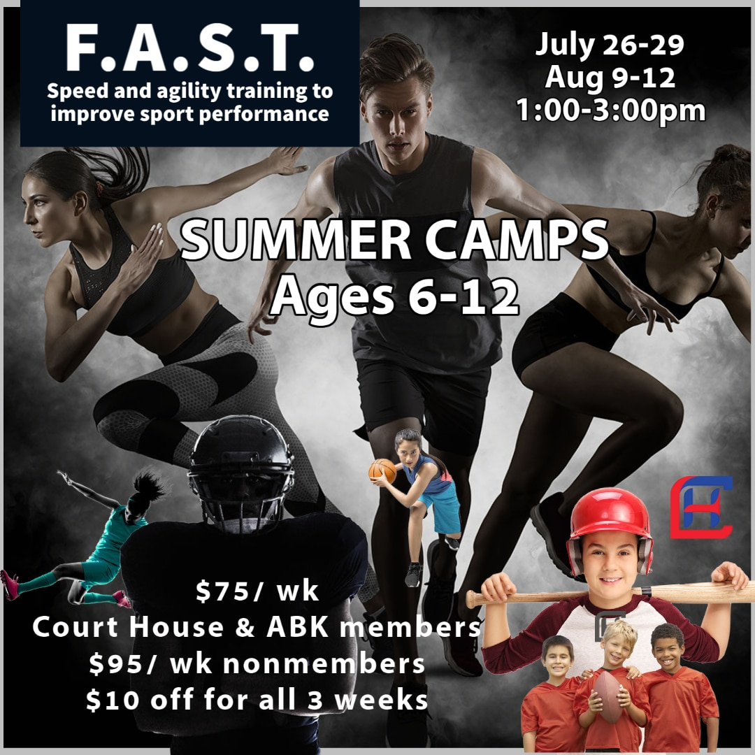 speed and agility camp
